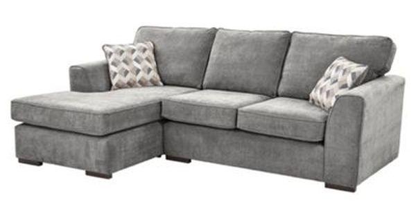 Boston Left Hand Corner Chaise Dark Grey Grey Sofa Living Room Grey Corner Sofa Grey Chaise Sofa
