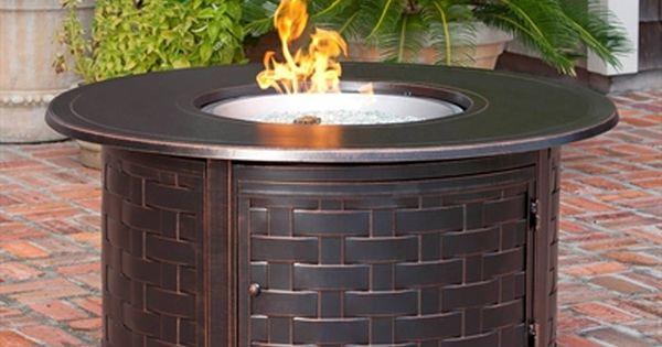 Paramount Fp 285 Zach 50 000 Btu Round Propane Fire Pit Table Round Propane Fire Pit Propane Fire Pit Table Round Fire Pit Table