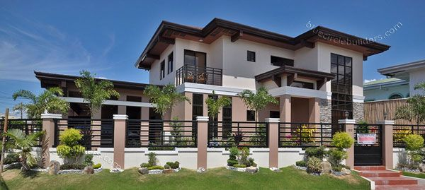 Custom Built Home With Private Swimming Pool Philippines Philippines House Design Philippine Houses Filipino House