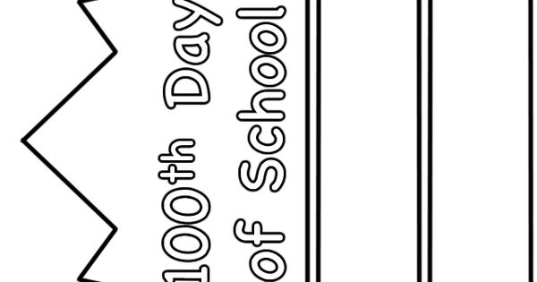 100th day worksheets 100th day of school hat paper for 100th day of school crown template