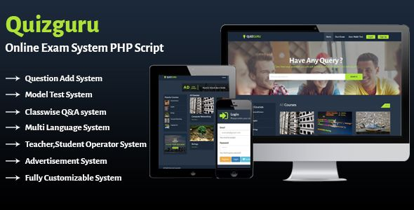 Quizguru Online Exam System Php Script More On Http Html5themes Org Quizguru Online Exam Syst Script This Or That Questions Examination System