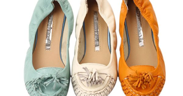 Classic Tassel Flats >> I think I may have to buy these!