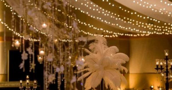 These Indoor Ceremony Backdrops Will Make You Pray For: Tables And Ceiling Backdrop Look Fantastic!