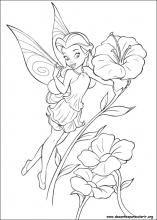 Desenhos Do Tinker Bell Para Colorir Paginas De Fadas Para