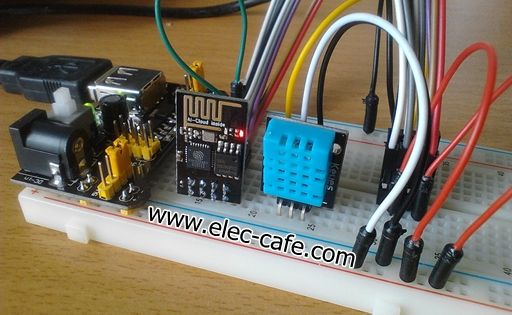 Humidity Sensor Circuit Ud8 Resistive Humidity Sensor Application