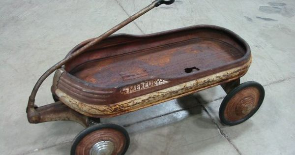 Mercury Pull Wagon Old Toy Wagons Pinterest Pull