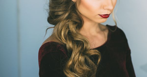 55 Simple Wedding Hairstyles That Prove Less Is More: Holiday Hair And Makeup By Vivian Makeup Artist. Such A
