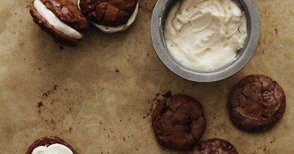 Satisfy your sweet tooth with these delectable Brownie Cookies with Salted Caramel
