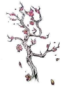 Flower Tattoo Meaning Ideas Images Pictures Blossom Tree Tattoo Cherry Blossom Tree Tattoo Tree Tattoo Designs