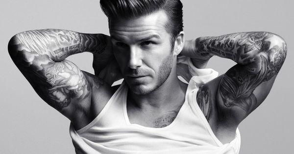 David Beckham: hair & style.