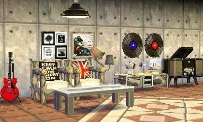 英字クッション Animal Crossing Music Interior Design Animals