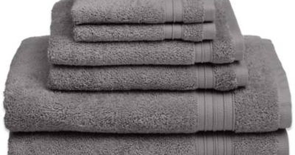 Product Image For Welspun Hygrosoft 6 Piece Towel Set With Images