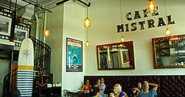 Cafe Mistral South Beach Miami Photo From New Times Write Up On This Cute Brunch Spot Lovely Pinterest Photos Spots And