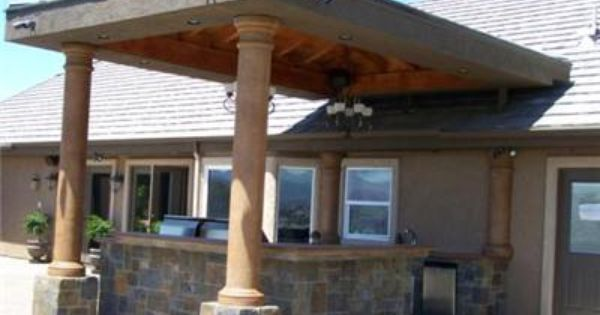 slate outdoor built in patio bar | Patio Cover, BarOutdoor KitchensCentury  22 CreationsMenifee, CA - Images About Outdoor House Ideas On Pinterest Patio Bar