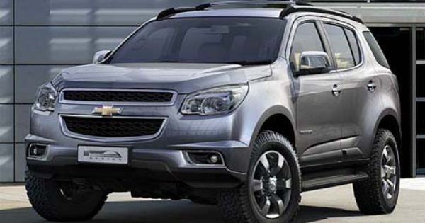 Nova Chevrolet Blazer 2012 Trailblazer Canta Pneu Chevrolet
