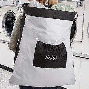Personalized Laundry Bag With Name Personalized Laundry Bag
