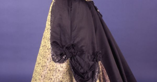 "From the First Ladies' Fashions exhibit, ""Frances Cleveland wore this silk evening"