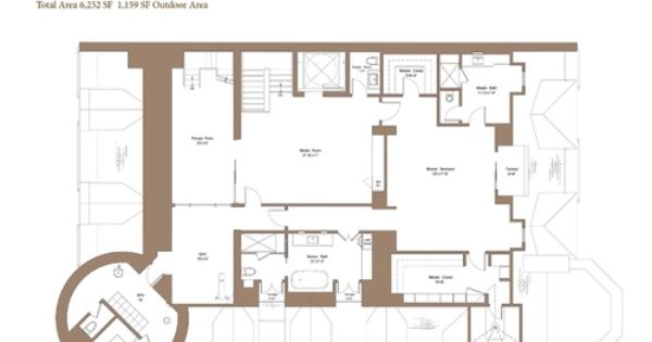 Behold the floorplan for back bay 39 s fanciest new for Quadruplex house plans