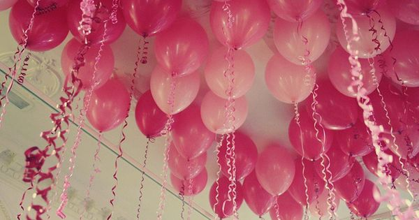 Fill a kids bedroom with balloons while they are sleeping for their