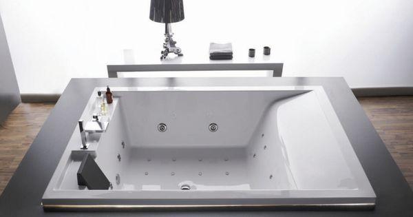 Baignoire acrilan queen rectangulaire d un design for Peut on repeindre une baignoire