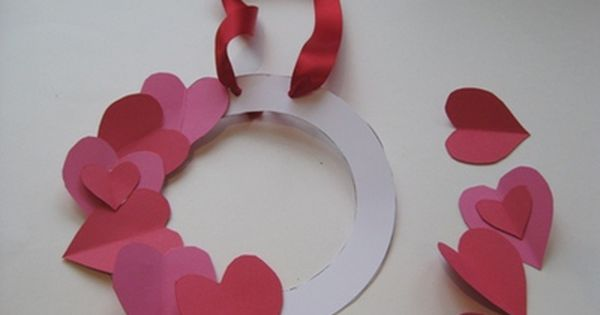 How To Make A Valentines Day Heart Wreath Heart Wreath