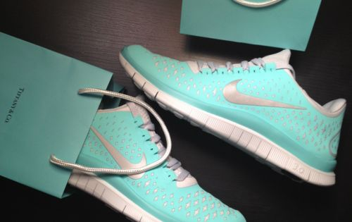 Tiffany blue Nikes