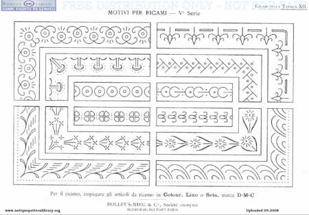 Antique Pattern Library Free Book By Dmc Pattern Library Hand
