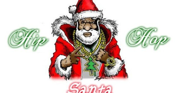 Hip Hop Santa Christmas Rap Music Santa Notes Christmas Pictures Note Cards