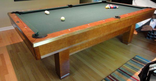 Hawthorn By Brunswick Pool Table Brunswick Billiards Hawthorne 8' Sold   Sold Used Pool Tables Billiard ...