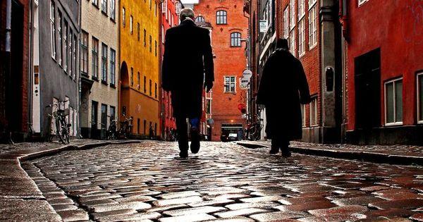 The old streets of Copenhagen (by Torben Ulrich Bøjstrup)