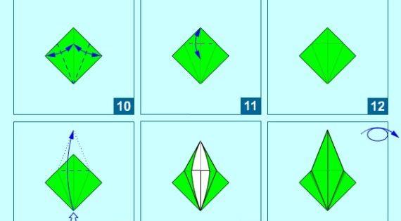 17 Cara Membuat Origami Kertas Mudah Bunga Binatang Burung Love Origami Bangau Kertas Bunga Dari Origami