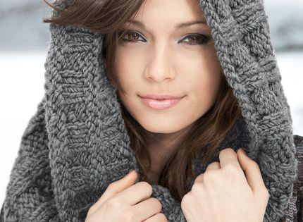 Loom Knit Hooded Scarf Pattern : Knitted Hooded Scarf Pattern All The Best Ideas Discover more ideas about H...