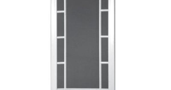 Screen Tight Camden 32 In. Solid Vinyl White Screen Door