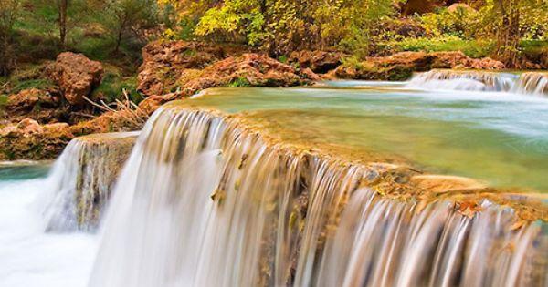 The Crystal Clear Waters Of Havasu Creek Havasu Canyon