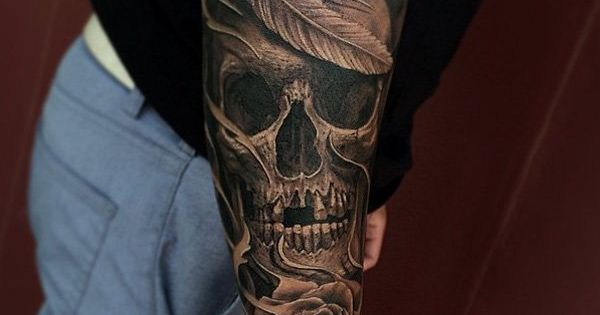 100 awesome skull tattoo designs tatueringar d skalletatueringar och citat. Black Bedroom Furniture Sets. Home Design Ideas