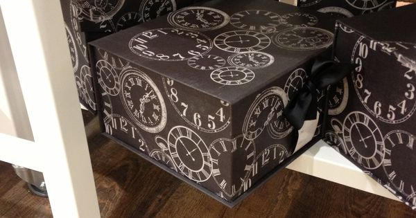 Decorative Boxes Tk Maxx : Chic storage boxes from home sense design
