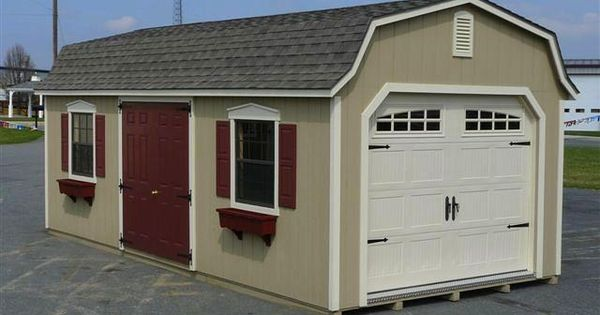 12 39 x24 39 dutch colonial garage with heritage garage door for Dutch colonial garage plans