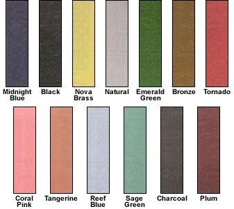 Anodised Aluminium Colours Creatief