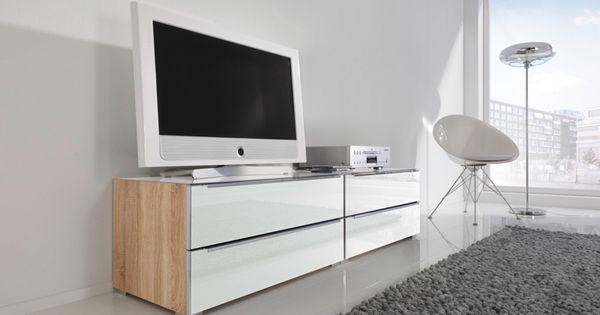 Best Kommode Alegro Style Sonoma Eiche Nb Wei glas Galerie Nolte M bel Nolte Wohnideen Pinterest