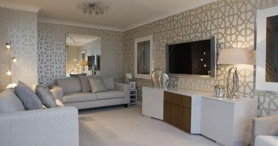 David Wilson Show Homes Google Search Home Living Room Cosy Living Room Grey Wallpaper Living Room