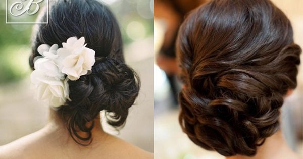 combed hairstyles : Bridal hairstyles for the cocktail party Hairdressing Ideas ...