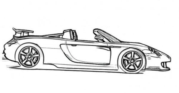 coloring pages of clic cars - photo#38