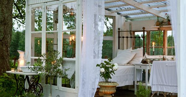 Greenhouse made into guesthouse