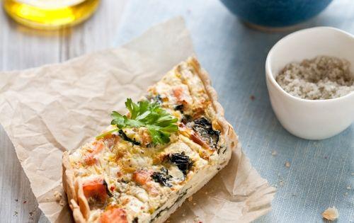 Quiche, Salmon and Salmon quiche on Pinterest