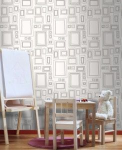 Sembrerà bene queste forme scure su carta da parati leggera. Carte Da Parati Da Colorare Mammachecasa Brown Wallpaper Framed Wallpaper Matching Paint Colors