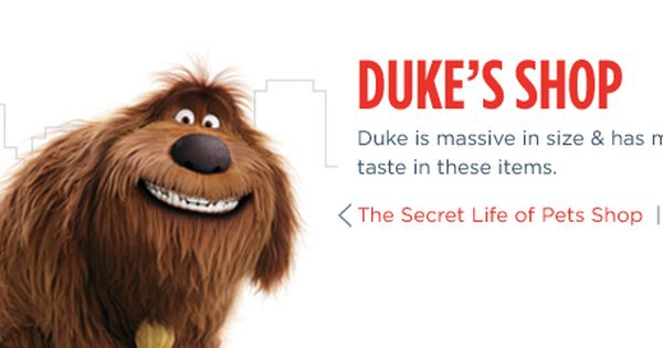 Duke The Secret Life Of Pets Petsmart Secret Life Of Pets