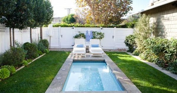 Piscinas para jardines peque os para m s informaci n for Jardines pequenos con pileta