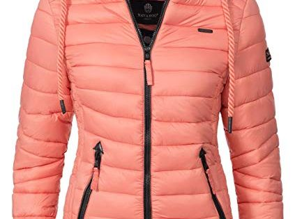 navahoo warme damen winter jacke b310