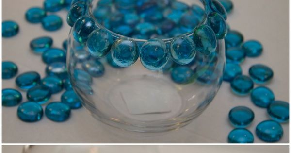 DIY Glass Bead Candle Holder. Super Easy to Make. Dollar Store Crafts