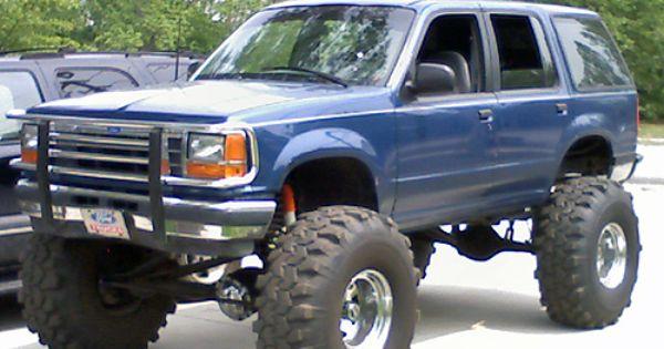 Ford Explorer Custom Trucks Lifted Pickup Rvinyl